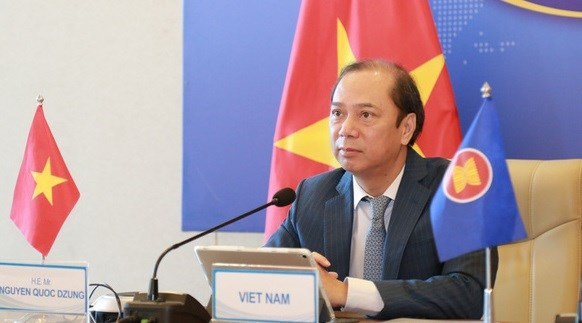 Participa Vietnam en Reunion de Altos Funcionarios de la ASEAN hinh anh 1