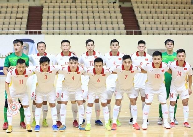 Seleccion nacional de futbol sala de Vietnam competira en torneo en Espana hinh anh 1