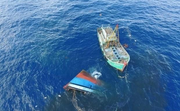 Indonesia reporta 83 pescadores desaparecidos en seis meses hinh anh 1