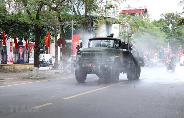 Vietnam compite contrarreloj para proteger parques industriales del COVID-19 hinh anh 2