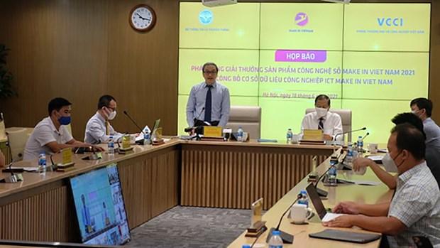Lanzan premio para productos digitales 'Make in Vietnam' 2021 hinh anh 1