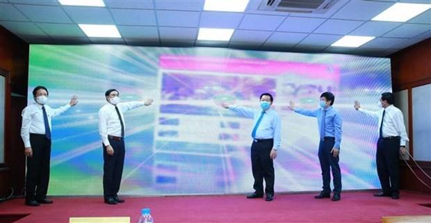 Periodico electronico del Partido lanza nueva interfaz y aplicacion movil hinh anh 1