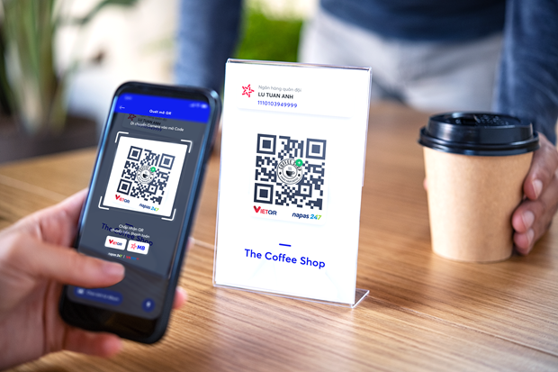 Transferencias de dinero con codigos QR favorecen pagos electronicos hinh anh 1