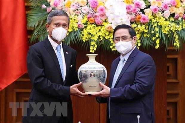 Aplaude Vietnam iniciativa singapurense sobre reconocimiento mutuo de vacunacion hinh anh 1