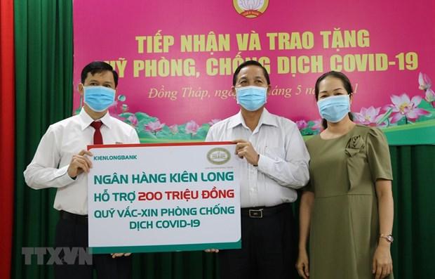 Acumula Vietnam fondo millonario de vacunas contra COVID-19 hinh anh 1