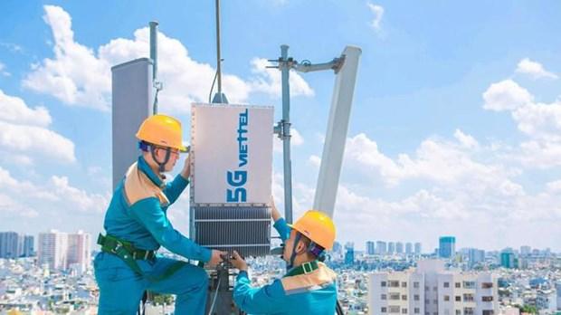 Provincias vietnamitas piden acelerar la cobertura de 5G hinh anh 1