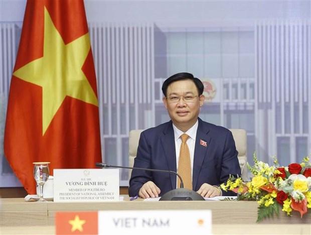 Japon comprometido a continuar apoyando suministro de vacunas contra COVID-19 a Vietnam hinh anh 1