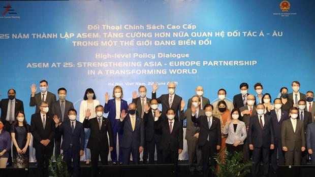 Preside Vietnam Dialogo de Politicas de alto nivel de ASEM hinh anh 1