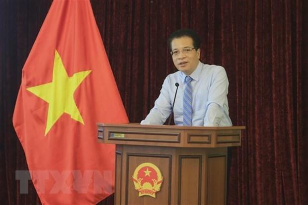 Embajada vietnamita en Rusia aplaude aportes de corresponsales hinh anh 1