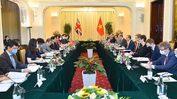 Vietnam y Reino Unido robustecen asociacion estrategica bilateral hinh anh 1