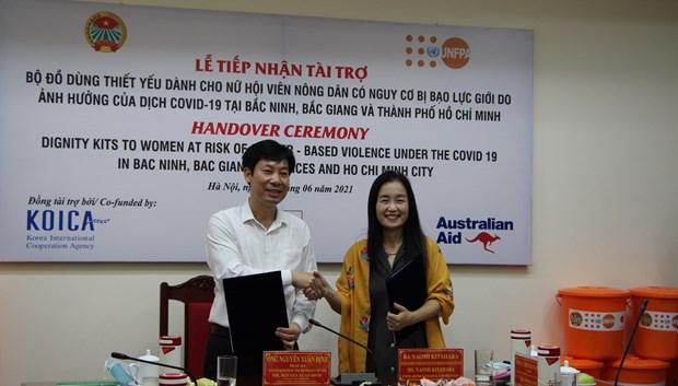 UNFPA ofrece asistencia a mujeres y ninos vietnamitas hinh anh 2