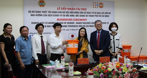UNFPA ofrece asistencia a mujeres y ninos vietnamitas hinh anh 1