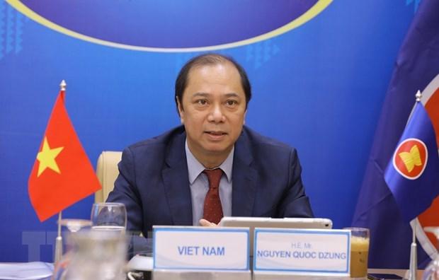 Instan a fomentar cooperacion ASEAN+3 en lucha contra COVID-19 hinh anh 2