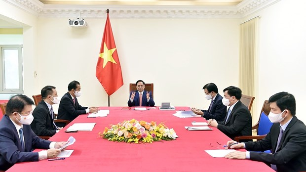 Vietnam y Alemania por fomentar asociacion estrategica hinh anh 1