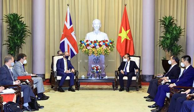Exhortan a profundizar asociacion estrategica Vietnam- el Reino Unido hinh anh 1