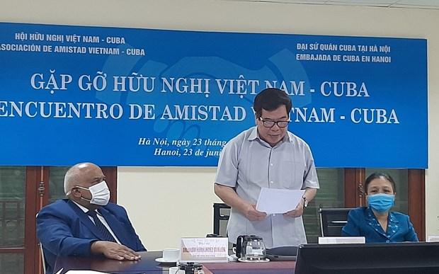 Vietnam reafirma solidaridad con Cuba hinh anh 1