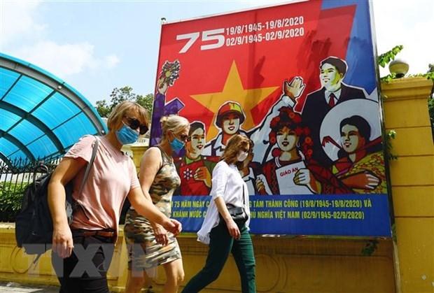 Hanoi recibe a 2,9 millones de visitantes en el primer semestre de 2021 hinh anh 1