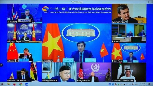 Participa Vietnam en conferencia de alto nivel sobre cooperacion de la Franja y la Ruta hinh anh 1