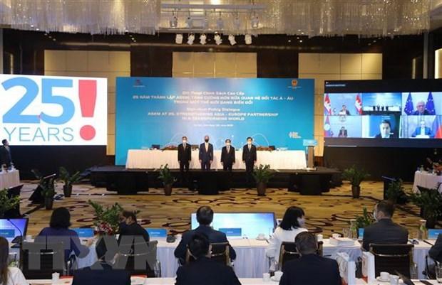 Realzan papel de Reunion Asia-Europa en impulso de lazos interregionales hinh anh 1