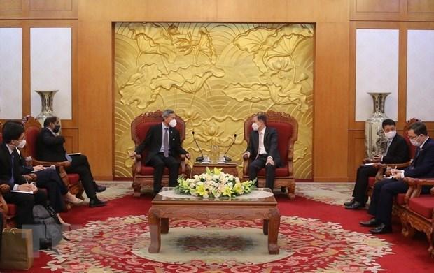 Hanoi y Singapur por ampliar cooperacion en multiples sectores hinh anh 1