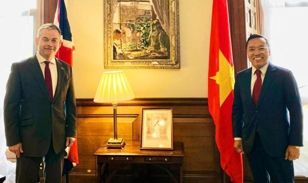 Destaca Reino Unido relaciones con Vietnam hinh anh 1