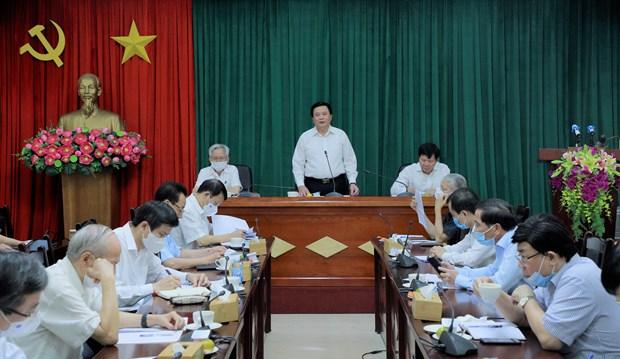Discuten en Vietnam asuntos teoricos y practicos sobre construccion del Partido hinh anh 1