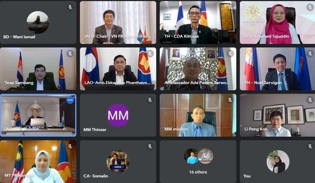 Vietnam preside reunion de iniciativa para la integracion de la ASEAN hinh anh 1