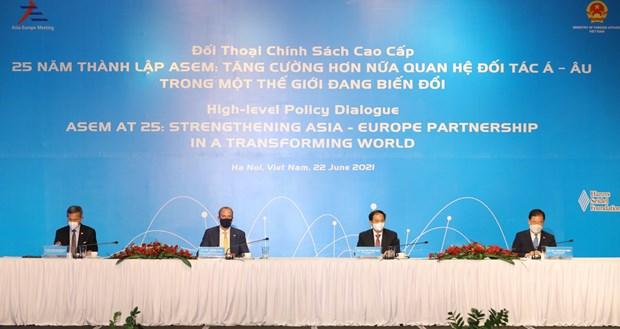 Resaltan importancia de la ASEM para crecimiento global hinh anh 1