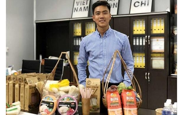Empresarios vietnamitas, creativos para superar el COVID-19 hinh anh 1