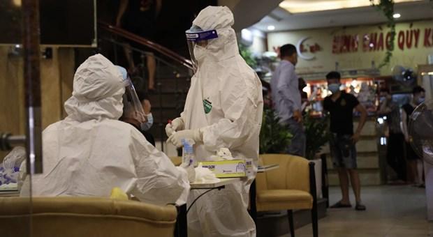 Amanece Vietnam con 42 casos nuevos del COVID-19 hinh anh 1