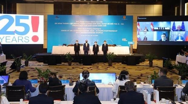 Reunion Asia-Europa desempena papel importante en diplomacia multilateral de Vietnam hinh anh 2