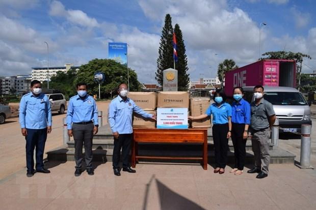 Provincia vietnamita apoya Camboya en la lucha contra COVID-19 hinh anh 1