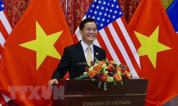 Vietnam y Estados Unidos promueven nexos de asociacion integral hinh anh 1