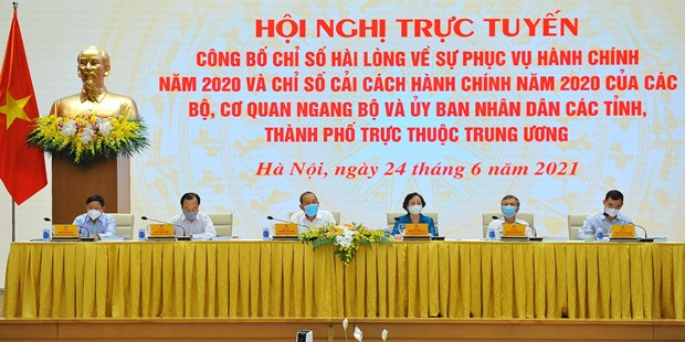 Provincia de Quang Ninh encabeza el Indice de Reforma Administrativa de Vietnam hinh anh 1