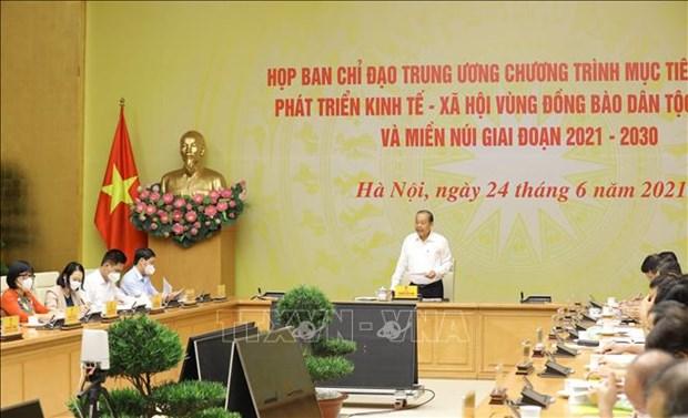 Empenado Vietnam en mejorar nivel de vida de minorias etnicas hinh anh 1