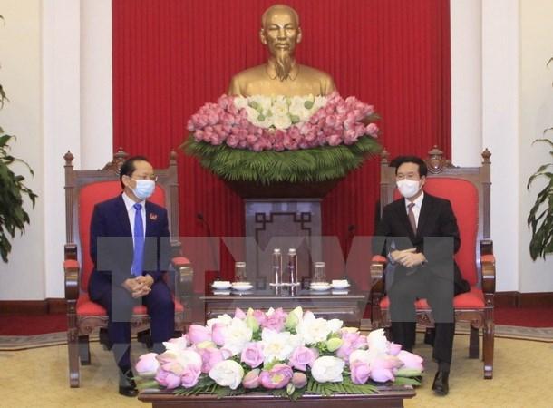 Vietnam prioriza el fortalecimiento de relaciones con Camboya hinh anh 1