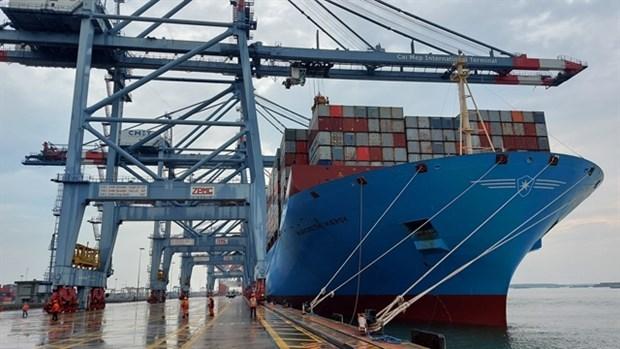 Aumenta envio de mercancias vietnamitas en contenedores maritimos hinh anh 1
