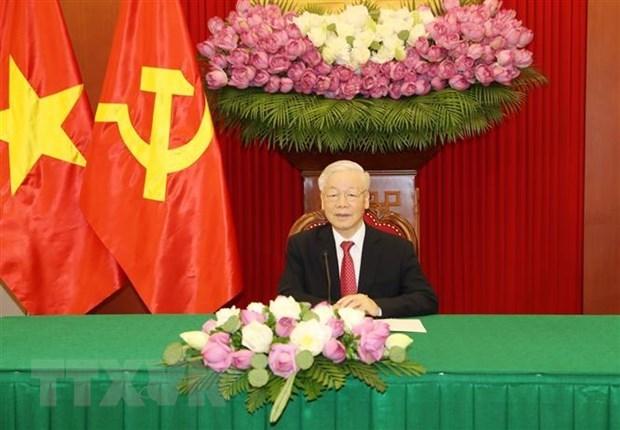 Destacan experiencias compartidas por maximo dirigente vietnamita sobre socialismo hinh anh 1