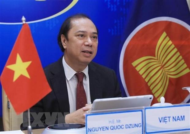 Efectuan Reunion de Altos Funcionarios de Cumbre de Asia Oriental hinh anh 1