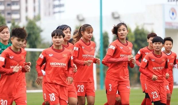 Vietnam competira grupo B de la Copa Asiatica de futbol femenino hinh anh 1