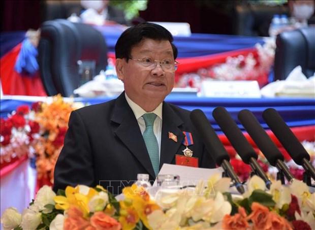 Periodico laosiano resalta la relacion especial entre Laos y Vietnam hinh anh 1