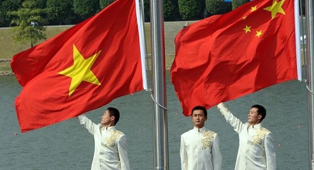 Efectuan conferencia virtual sobre nexos entre los partidos comunistas de Vietnam y China hinh anh 1