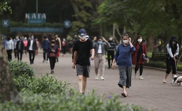 Hanoi levanta restricciones a actividades deportivas al aire libre hinh anh 1