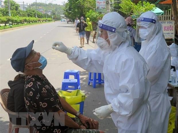 Reporta Vietnam 123 casos nuevos de COVID-19 hinh anh 1