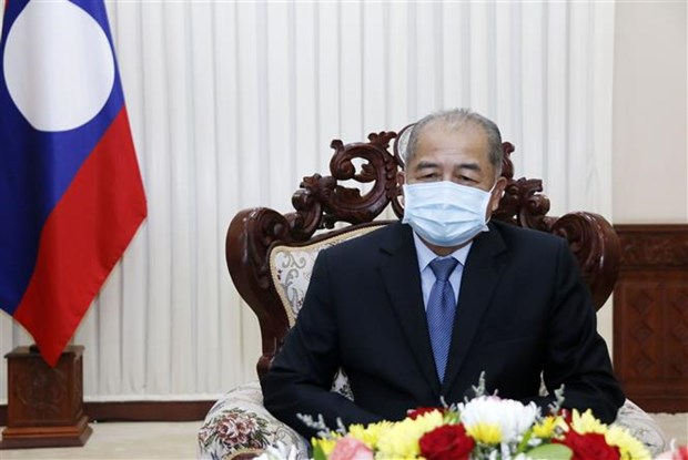 Laos concede gran importancia a la relacion especial con Vietnam, segun vicepremier hinh anh 1
