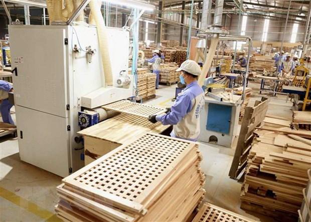 Senales alentadoras para la exportacion de muebles de madera de Vietnam hinh anh 1