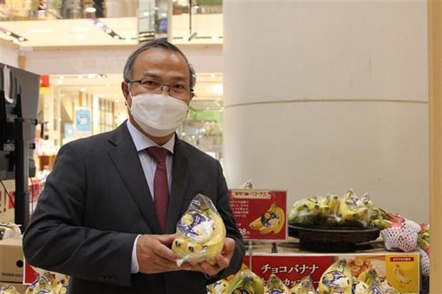 Platanos vietnamitas ganan popularidad en mercado japones hinh anh 1