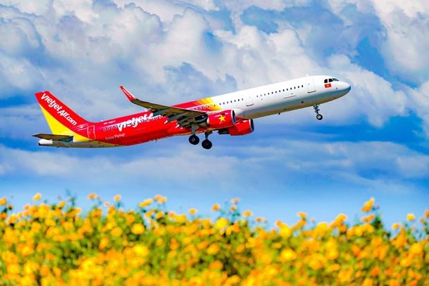 Vietjet Air ofrece promociones por Dia de Familia de Vietnam hinh anh 1