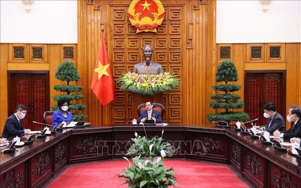 Banco Mundial comprometido a apoyar acceso justo de Vietnam a vacunas antiCOVID-19 hinh anh 1