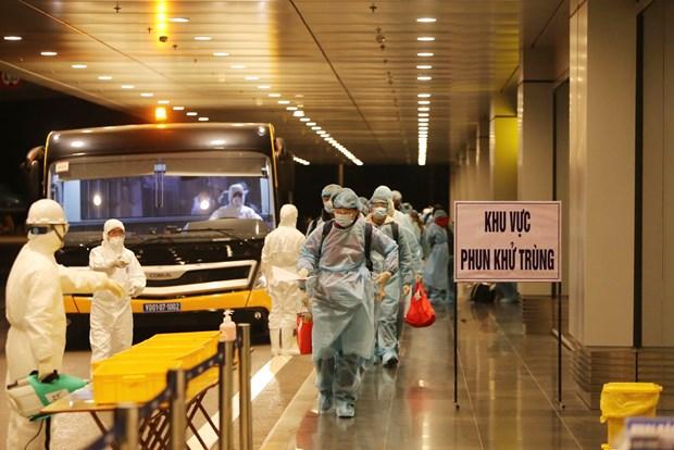 Vietnam considera cuarentena de siete dias para los vacunados contra COVID-19 hinh anh 1